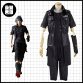 Final Fantasy XV Noctis Lucis Caelum Cosplay Costume Man Spring Suit Black Jacket+ShirtPants+Glove Full Set Halloween Uniforms