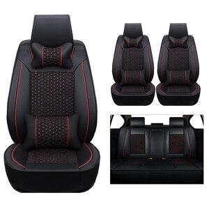 Image 5 - באיכות גבוהה (עור + משי) כיסוי מושב רכב לסקודה אוקטביה 2 פאביה מעולה ראפיד Yeti a5 a7 סופר אביזרי מכוניות סטיילינג אוטומטי