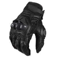 Free shipping The Latest Armed Leather Mesh Gloves Motorcycle riding gloves Knight gloves