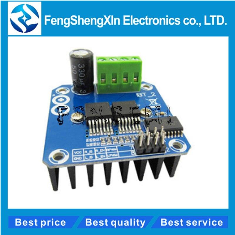 BTS7960 43A High-power smart car motor drive module semiconductor refrigeration drive