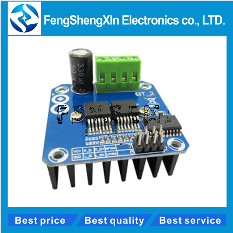 BTS7960 43A High-power Smart Car Motor Drive Module Semiconductor Refrigeration Drive