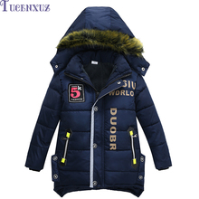 Hot new  boy coat&outwear children winter jacket&coat boy jacket coat warm hooded children clothing kids clothes