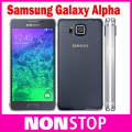 Original unlocked Samsung Galaxy Alpha G850A/G850F 2GB RAM 32GB ROM 4.7'' 12MP camera 6.7 mm Slim Mobile phone