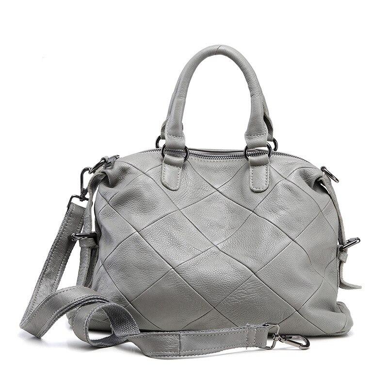 Genuine Leather Bag Classic Women Messenger Bags Women Handbags Designer High Quality Women Bag Shoulder Bag Tote