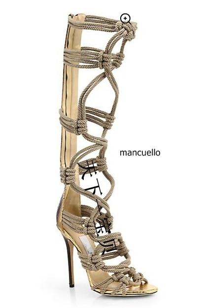 New Arrival Black Patchwork Rope Stiletto Heels Dress Sandals Women Fashion Strappy Peep Toe Sandal Booties Pretty Dress Shoes dark blue belted peep toe fashion booties