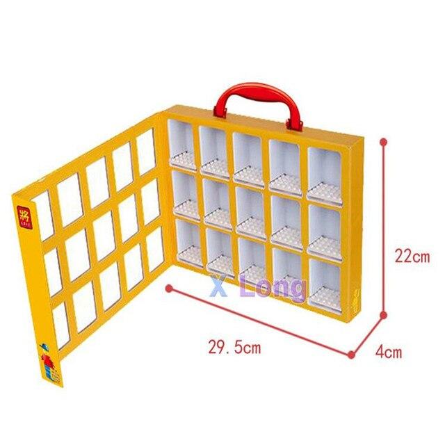 Lego Mini-Figures Display Case Portable Mini Organizer Storage Box House