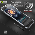 """Luphie de lujo caja de parachoques para el IPhone 6 6 s 4.7 """" 6 6 s Plus 5.5 """" para el iphone6 embalaje al por menor aluminio de parachoques del Metal para el IPhone 6 s"""