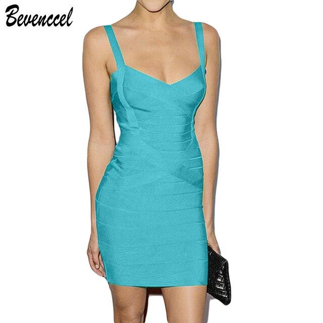 Summer Dresses Women 2019 Clasic Straps Bodycon Bandage Dresses Sleeveless  Vestidos De Fiesta Celebrity Party Dress a4794d476df5
