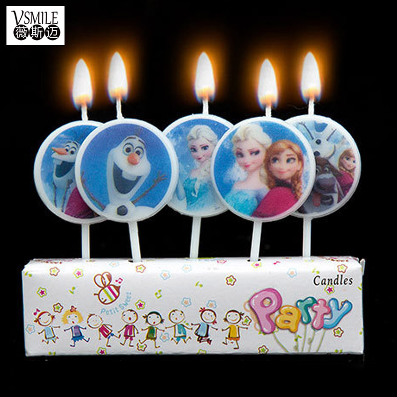 5pcsset Beautiful Princess Sofia Cartoon Kids girl boy Birthday