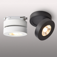 Thrisdar Ultra-thin Led Track Light 3W 5W 7W Surface Mounted COB Downlight Adjustable rail LED spotlight Ceiling light