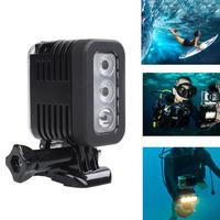 Lensoul 30m Underwater LED Diving Light For Xiaomi Yi Sports Action Camera Fill Light Spotlight With