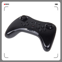 Black Classic Dual Analog Wireless Bluetooth Remote U Pro Game Controller Gamepad For Nintendo Wii U