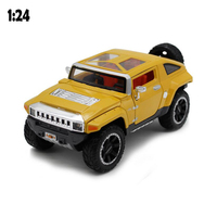 1:24 Alloy Toy Car Inertia Toy Car High Simulation High Quality Off Road Metal Model Car OR Vehicle Model Ornaments Kids Gift