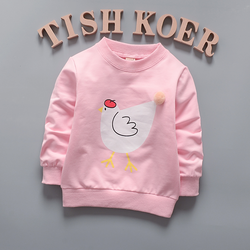 HTB1Q8saQFXXXXaQXFXXq6xXFXXXC - (1piece /lot) 100% cotton 2017 Cute The chicken baby outerwear 0-3 year old