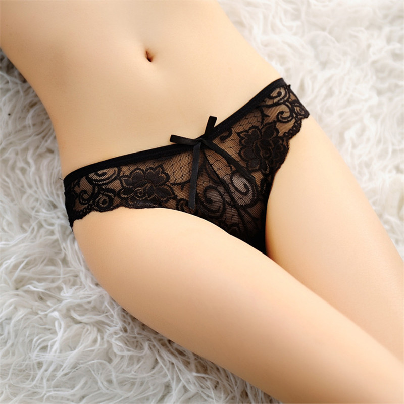 Hot Fashion Women Underwear Panties Lady Thongs Mesh Transparent G-string Briefs  Lace  Sexy Lingerie Free Ship