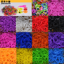 Diy toys rubber bands bracelet for kids or hair rubber loom bands refill rubber band make woven bracelet DIY Christmas 2019 Gift(China)