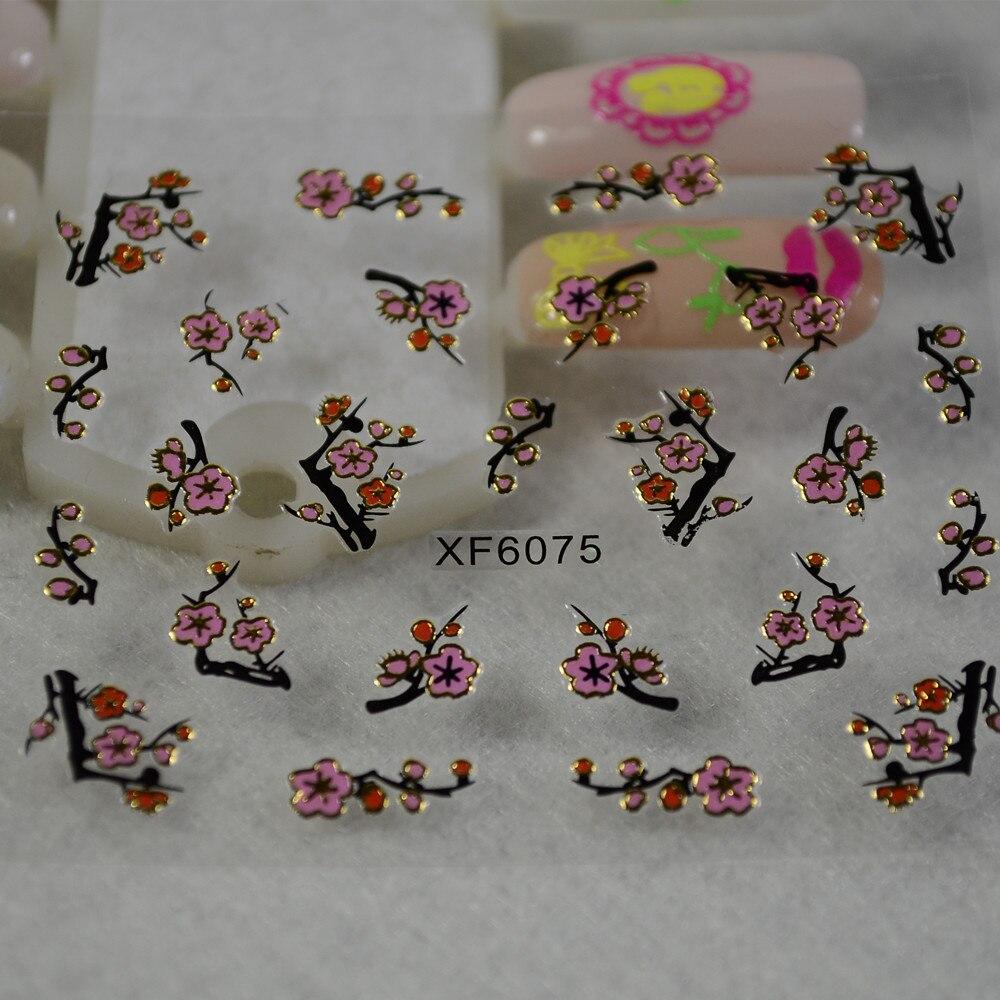 36pcs Colorful Dried Peach Blossom Nail Art Decorations 1402618 2017 2 99