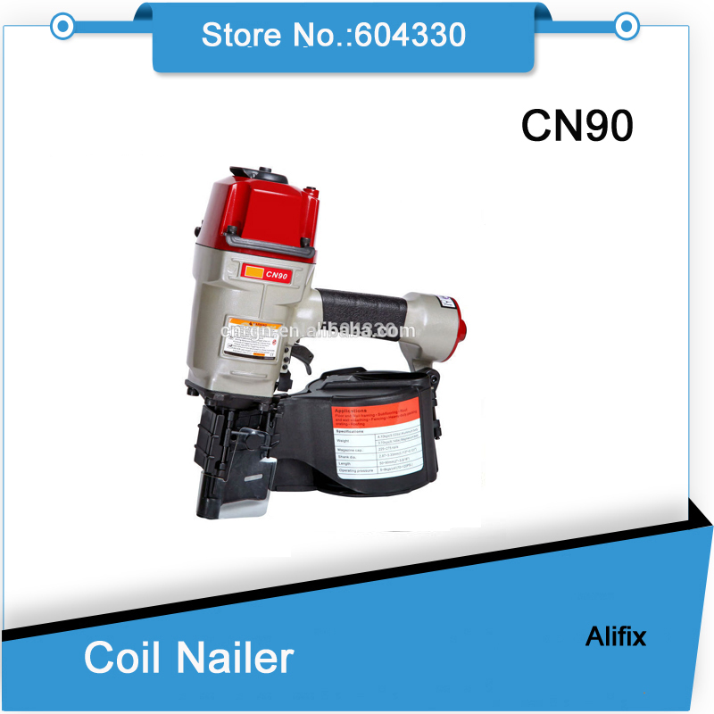 CN90 coil nail guns Air gun Industrial Pallet air nailer MAX design pneumatic tools