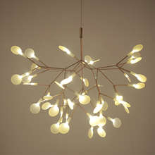 Heracleum ii mały wisiorek światła drzewo liść vintage led oświetlenie domu lampy lampy lampy przez bertjan garnek z zawieszenia