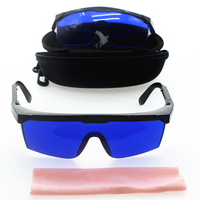 Защитные очки для Лазерный импульс для красоты, очки для поиска гольфа, очки для поиска мячей для гольфа защитные очки, синие линзы корабль с...