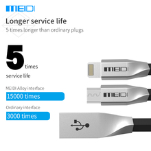 MEIDI Original Micro USB Cable For Xiaomi Android Smart Phones For iPone5 6s Fast Charge Data Cable 1m Length Micro USB Cable