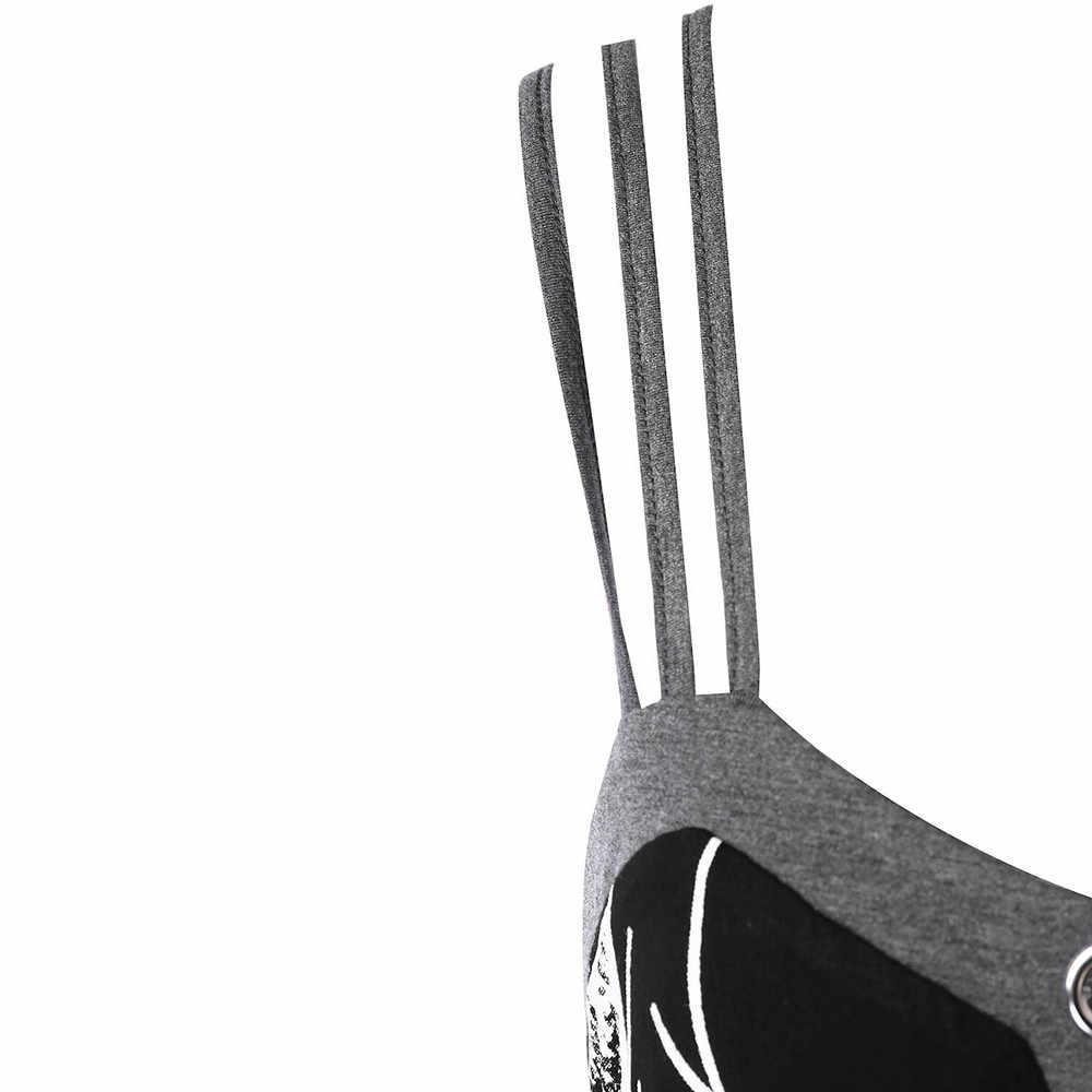 Gamiss ニットキャミソール女性の夏とキャミソールプリントグラフィックトップスプラスサイズチェーン修飾語ストラップタンクトップビッグサイズ服 5XL