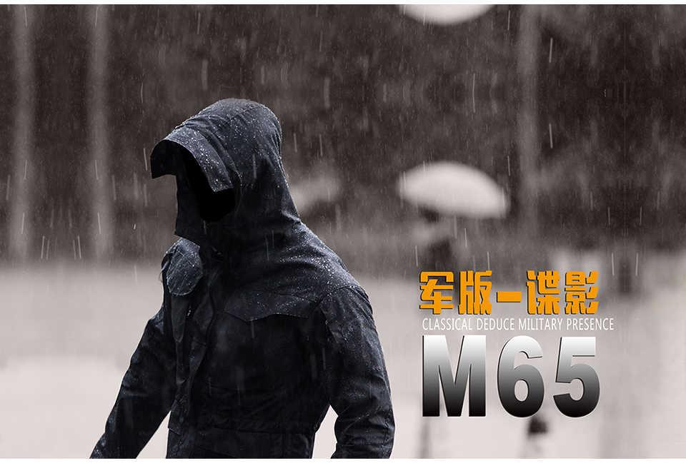 M65 İNGILTERE ABD Erkekler Uçuş Pilot Ceket Ordu Elbise Rahat Taktik Hoodieilitary Alan Ceket Rüzgarlık Su Geçirmez yürüyüş ceketi