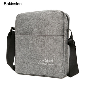 Bokinslon Men Shoulder Bag Cas