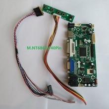 Kit for N101BGE-L21 40pin M.NT68676 CMO display DVI HDMI 10.1″ LCD VGA 1366X768 Controller board Screen Panel LED DIY