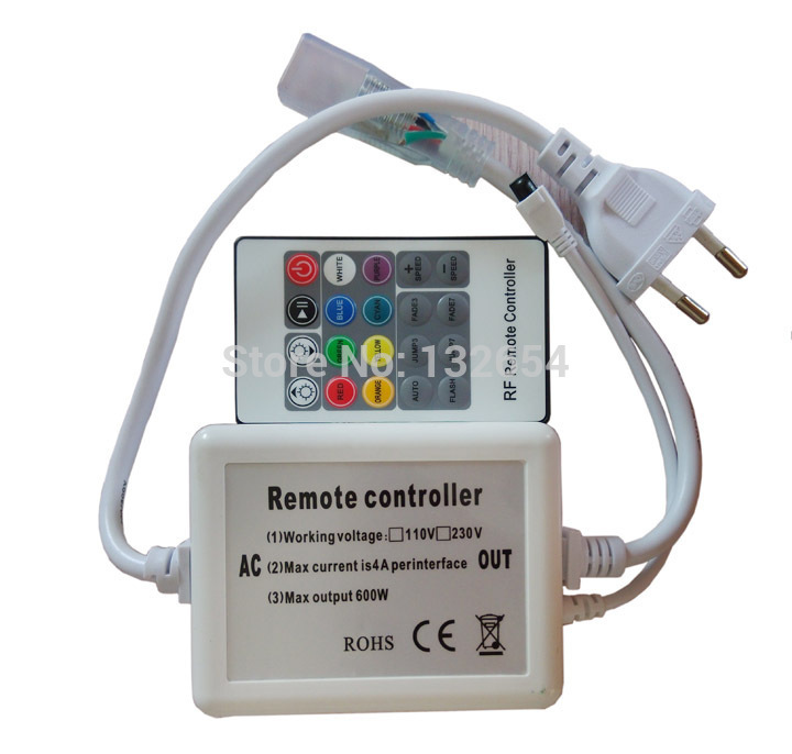 Ac110v 220v 3 circuits 600w 20key ir remote wireless high voltage ac110v 220v 3 circuits 600w 20key ir remote wireless high voltage rgb led controller led strip light rope light controller in rgb controlers from lights mozeypictures Image collections
