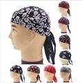 Cotton Biker Skull Caps Motorcycle Bandana Head Wrap Du Doo Do Rag  9 pattern