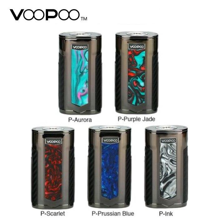Nouveau Original VOOPOO X217 boîte Mod 217 W Vape Mod US gène puce alimenté par 18650 20700 21700 batterie e-cig Vape Mod VS glisser 2 Mod