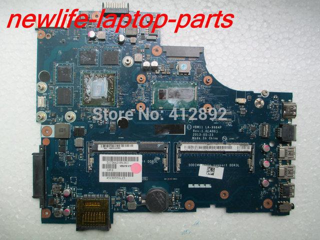 Original para 5737 motherboard VBW11 LA-9984P DDR3 maiboard 100% teste rápido navio