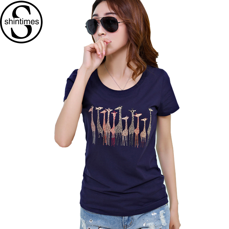 Online buy wholesale diamond tshirts from china diamond for Wildlife t shirts wholesale