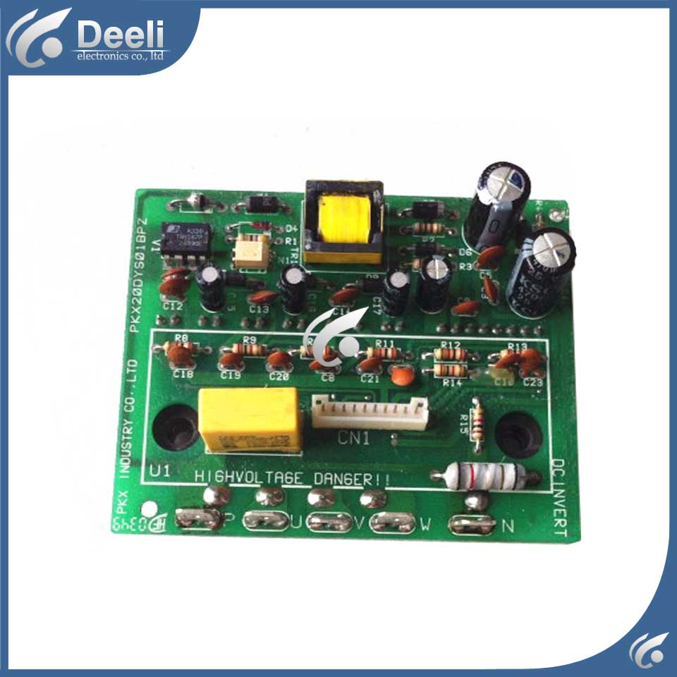 good working for air conditioning Computer board Frequency conversion module PKX20DYS01BPZ used air conditioning frequency conversion module dkq kt 02a 05 01 kfr 2801gw bp pm20ctm060 used board good working