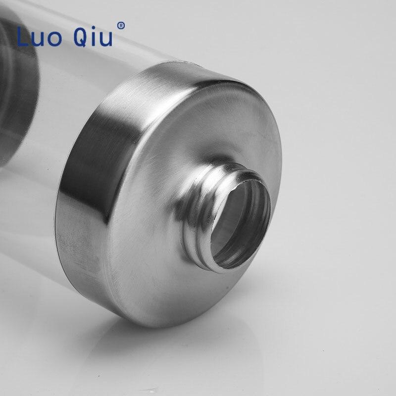 350 ml stainless steel multipurpose plus acrylic clear liquid bottle hand soap dispenser foam in Portable Soap Dispensers from Home Garden