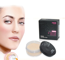 Brand New 4 Colors Smooth Loose Powder Makeup Transparent Finishing Powder Waterproof Cosmetic Face Finish Setting With Puff