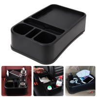 Car Shelf Auto Supplies Multifunction Car Auto Seat Side Organizer Holder Shelf Box For Rear