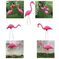 3x реалистичные газон Фламинго DIY книги по искусству Декор домашний сад вечерние пастбища орнамент садовые статуэтки
