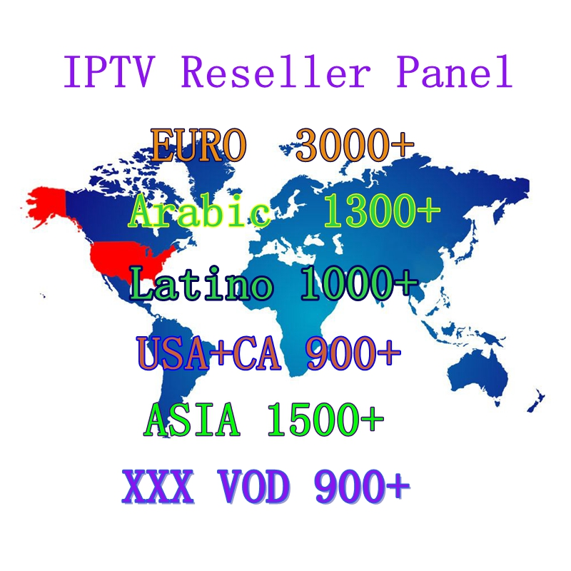 Купить с кэшбэком World IPTV 4K 5000 channels 9000 VOD free test Europe USA Turkey Arabic subscription 12 months admin panel