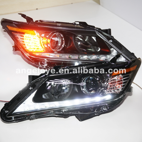 For Toyota for Camry  LED Head Lights Head lamp front light  2012-2013 year for LEXUS style with DRL  GD цена 2017