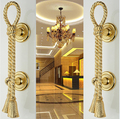 2 pcs free shipping Door shake handshandle european-style villa door shake handshandle archaize wooden door handle  KD-280
