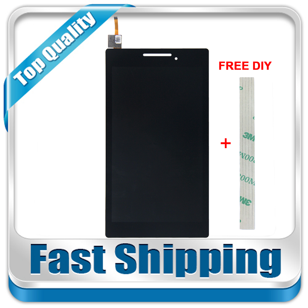 New For Lenovo Tab 2 A7-10 A7-10F A7-20 A7-20F Replacement LCD Display Touch Screen Digitizer Assembly 7-inch Black srjtek new 7 inch lcd display touch screen digitizer assembly replacements for lenovo tab 2 a7 10 a7 10f free shipping