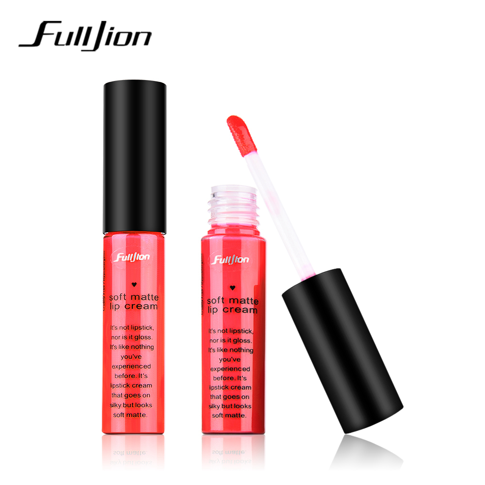 1pcs pro lipstick Matte Waterproof longlasting velvet liquid lip stick Nude makeup cashmere lipgloss Cosmetics for woman make up 1
