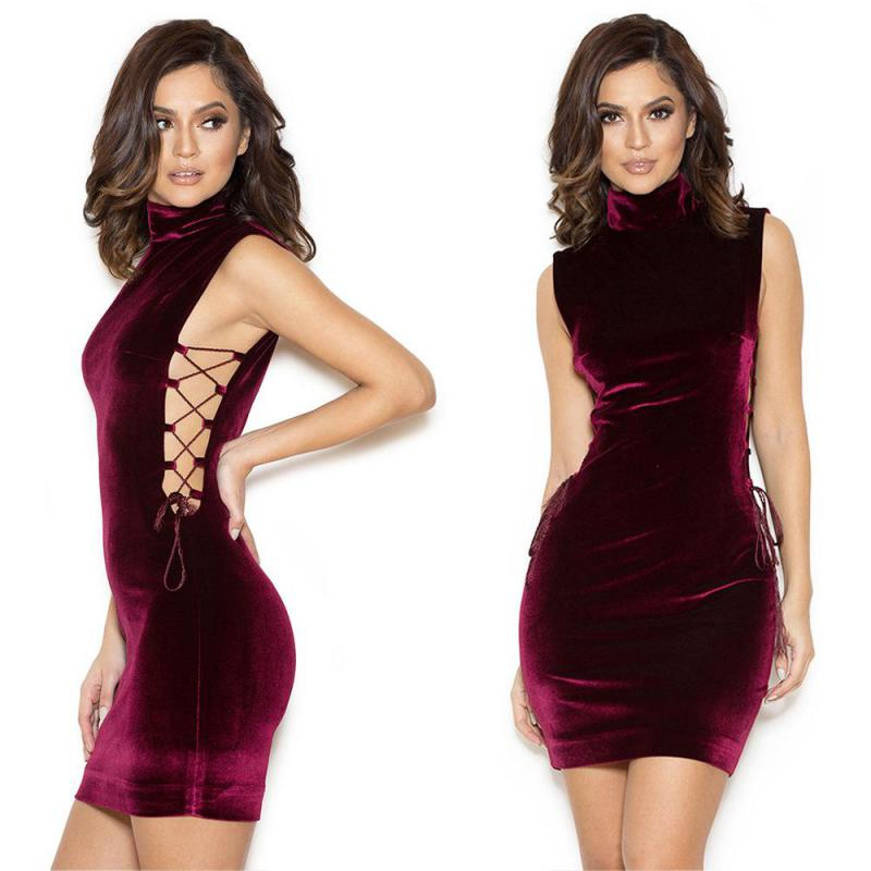 Popular Red Turtleneck Dress Buy Cheap Red Turtleneck
