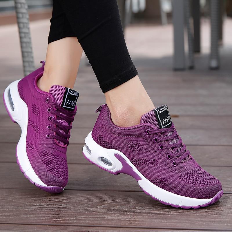 Big Size 41 42 White Sneakers Women Running Shoes Men Fashion Outdoor Walking Air Cushioning Woman Sport Mens Athletic Sneaker