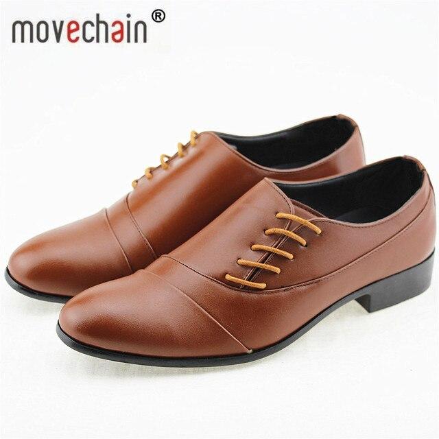 Gutes Produkt Movechain männer Hochzeit Party Schuhe Mode