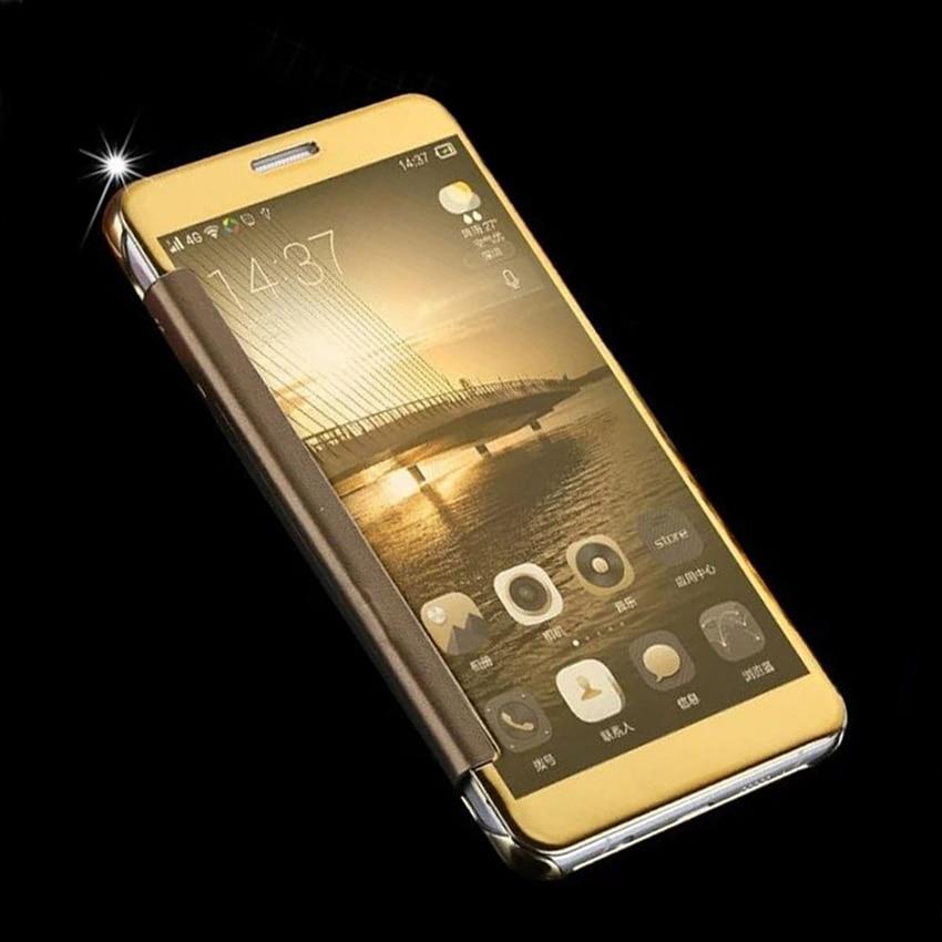 Flip Couverture Clear View Cas de Téléphone Pour Samsung Galaxy J2 J5 J7 On7 Premier On5 J2prime J5prime J7prime J 2 5 7g SM G532F G570 G610F
