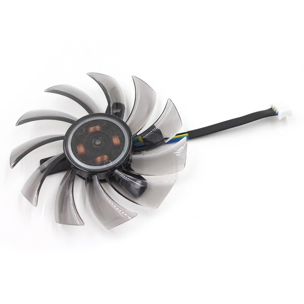 75 MM APISTEK GA81S2U-NNTB T128010SU DC12V 0.35A Broches GTX 660 Graphique Carte Vidéo De Refroidissement Ventilateur
