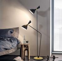 Nordic fashion simple double bedroom floor lamp post modern model room study lamp LED lighting fixture led lamps floor lamps